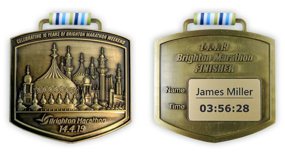 Brighton Marathon Weekend Medal