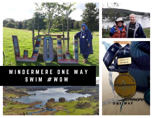 We catch up with iTAB Senior Account Manager, Debbie 'swim like a' Fish, after her epic 11-mile Windermere One Way Swim