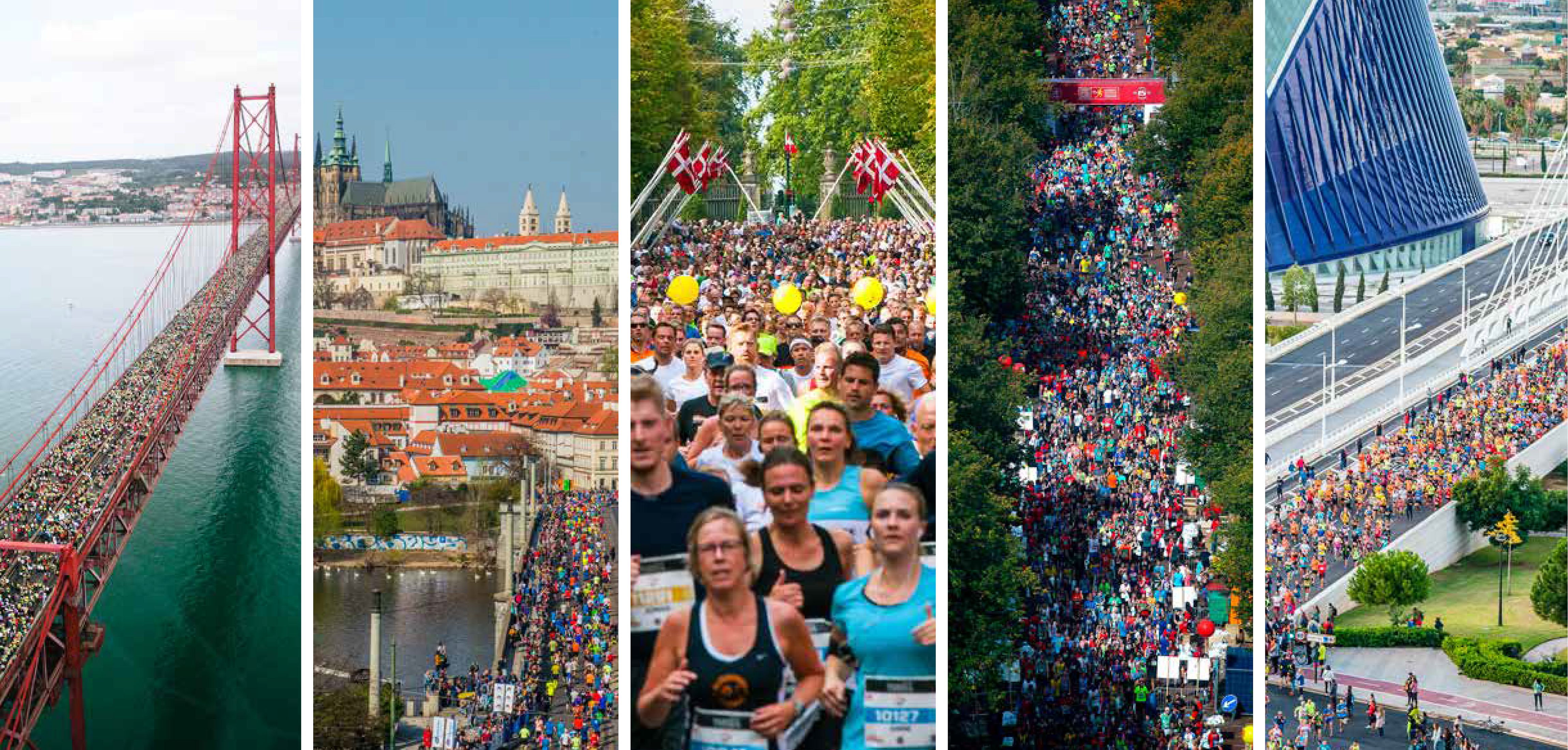 Five of the World's Leading Half Marathons have Partnered to Create the New SuperHalfs International Running Series