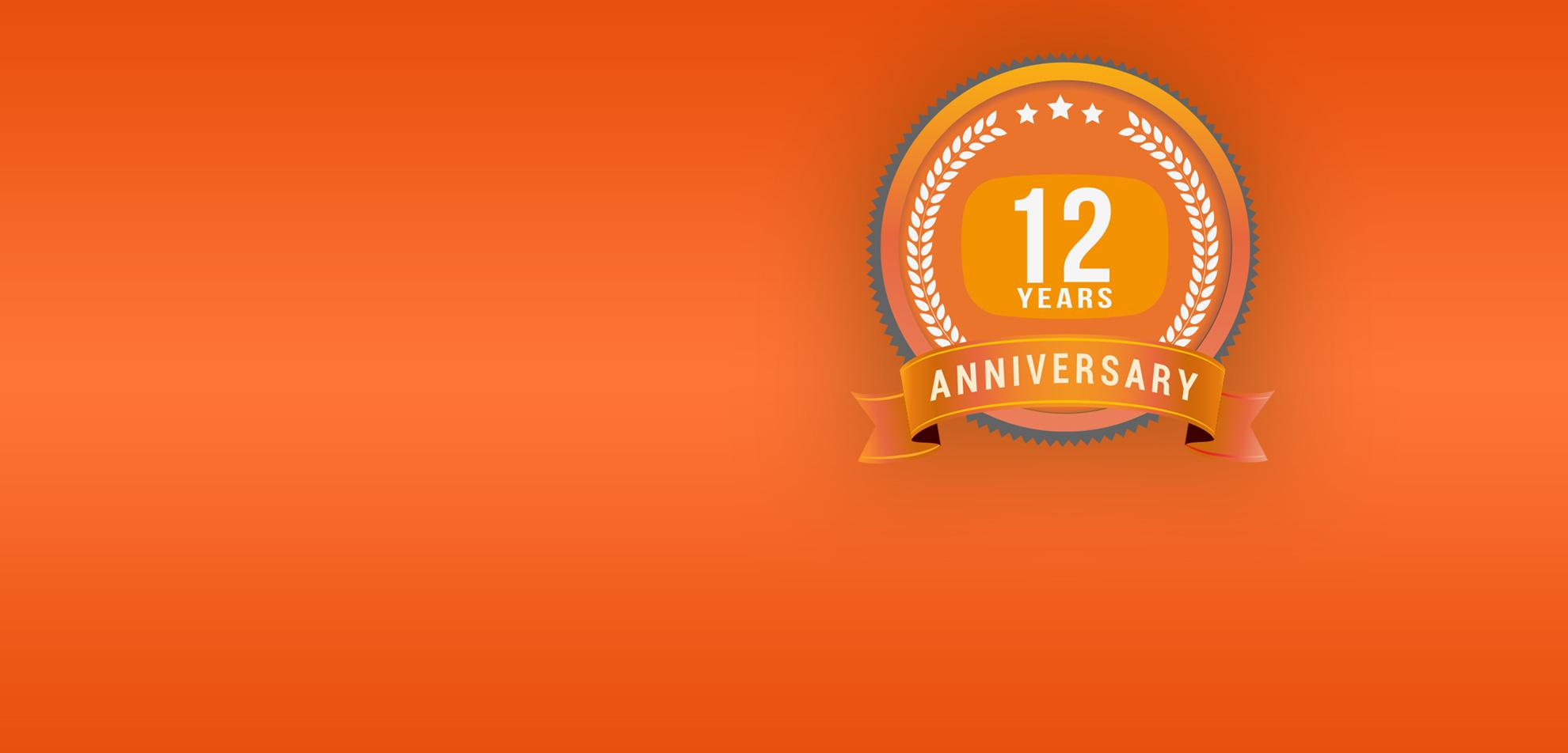 iTAB 12 Year Anniversary